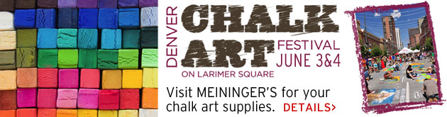 Denver Chalk Art Festival, June 3-4, Larimer Square