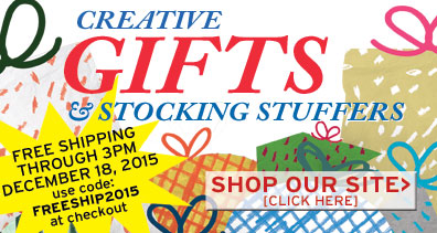Creative Gifts & Stocking Stuffers Shop Our Site