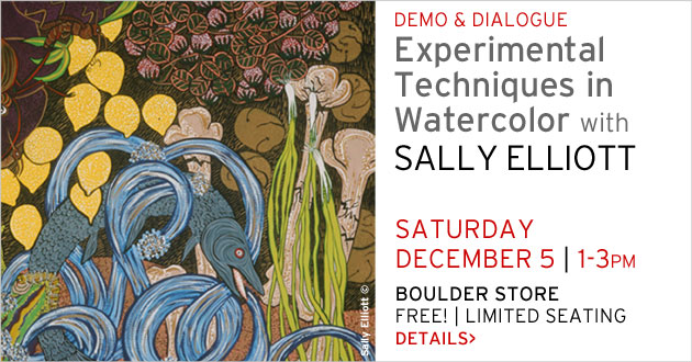 Demo & Dialogue Boulder: Sally Elliott, December 5, 1-3pm