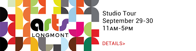 Arts Longmont Studio Tour, September 29-30, 11am-5pm, various locations
