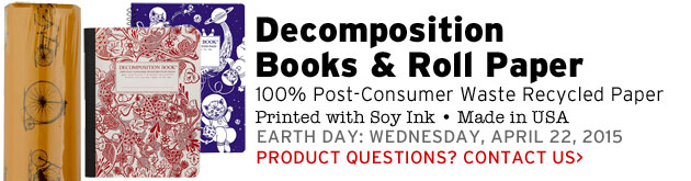 Decomposition Books & Paper, 100% Recycled