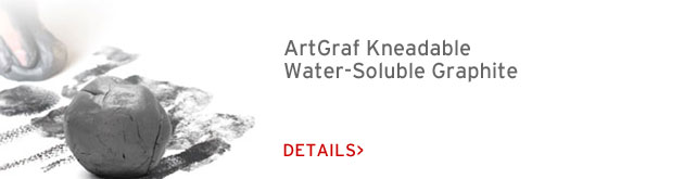 Art Graf Kneadable, Water-Soluble Graphite